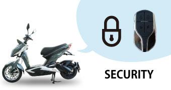 安心のセキュリティイモビライザーを標準装備