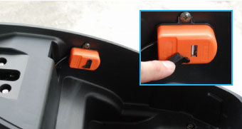 USB充電ソケット